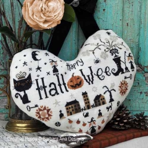 Barbara Ana Designs - Halloween Heart