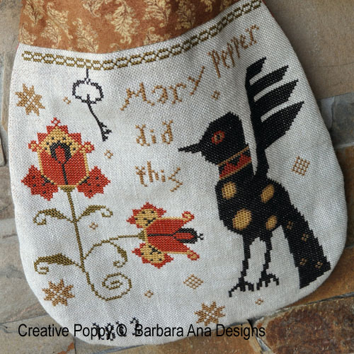 Barbara Ana Designs - Mary Pepper Pouch