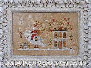 Barbara Ana Designs - Santa, the Dove and the Key
