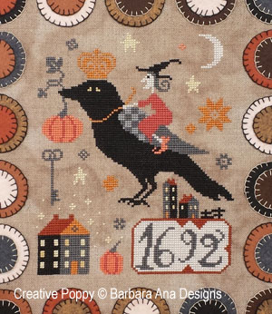 Barbara Ana Designs - The Witch, The Crow and the Pumpkin