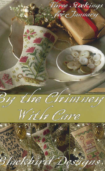 Blackbird Designs - By the Chimney With Care (Stocking)