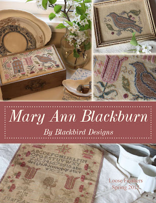 Blackbird Designs - Mary Ann Blackburn - Loose Feathers #44