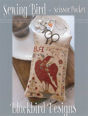 Blackbird Designs - Sewing Bird Scissor Pocket