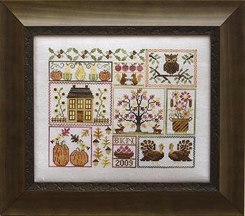 Blue Ribbon Designs - Autumn Leaves and Sunflower Seeds