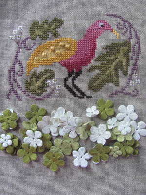 By the Bay Needleart - Birds of a Funky Feather - Part 1