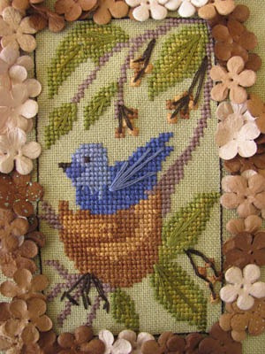 By the Bay Needleart - Birds of a Funky Feather - Part 10