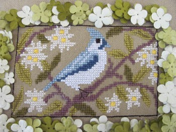 By the Bay Needleart - Birds of a Funky Feather - Part 11