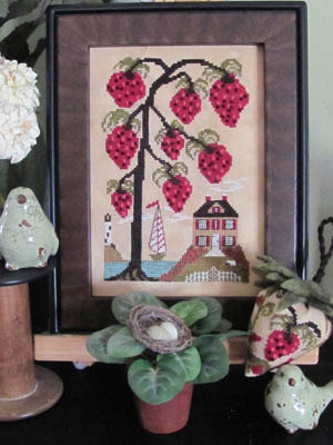 By the Bay Needleart - Strawberry Hill