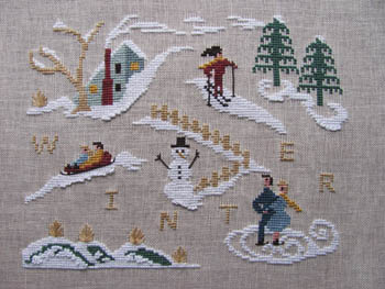 By the Bay Needleart - Winter Holiday