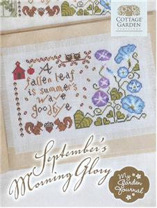 Cottage Garden Samplings - September's Morning Glory - My Garden Journal
