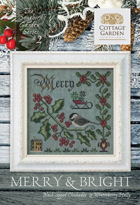 Cottage Garden Samplings - Songbird's Garden Part 2 - Merry and Bright