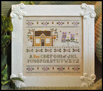 Country Cottage Needleworks - A Bee C Sampler
