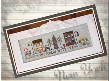 Country Cottage Needleworks - Afternoon in New York