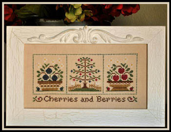 Country Cottage Needleworks - Cherries and Berries