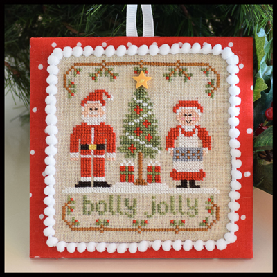 Country Cottage Needleworks - Classic Collection #8 - Holly Jolly