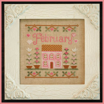 Country Cottage Needleworks - February Cottage of the Month