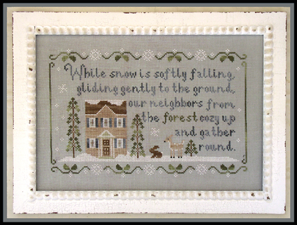 Country Cottage Needleworks - Forest Snowfall