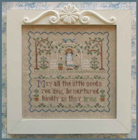 Country Cottage Needleworks - Garden Girl