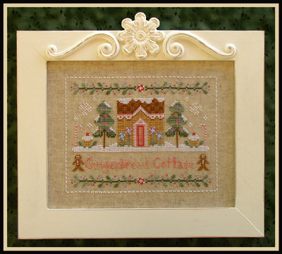 Country Cottage Needleworks - Gingerbread Cottage