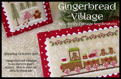 Gingerbread Village Project of the Month Club