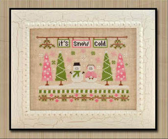 Country Cottage Needleworks - It's Snow Cold