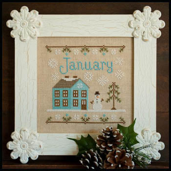 Country Cottage Needleworks - January Cottage of the Month
