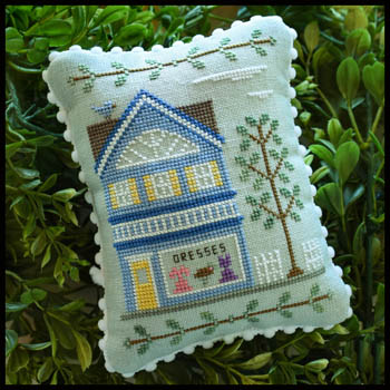 Country Cottage Needleworks - Main Street Part 6 - Dress Shop