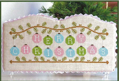 Country Cottage Needleworks - Merry Christmas Ornaments