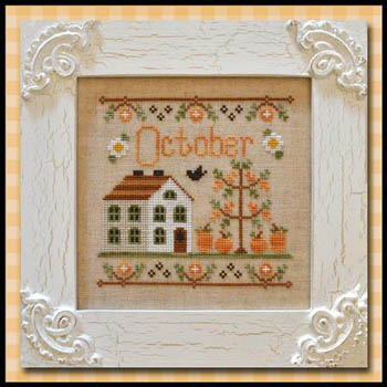 Country Cottage Needleworks - October Cottage of the Month