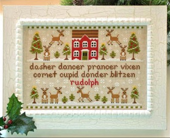 Country Cottage Needleworks - Reindeer Games