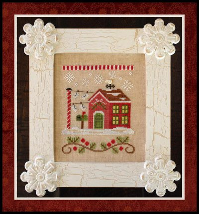 Country Cottage Needleworks - Santa's Village #3 - North Pole Post Office