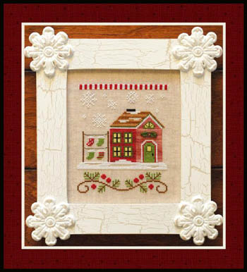 Country Cottage Needleworks - Santa's Village #5 - Santa's Stocking Store
