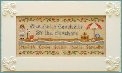 Country Cottage Needleworks - She Sells Seashells