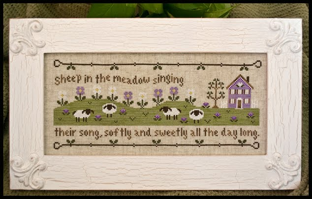 Country Cottage Needleworks - Sheep in the Meadow