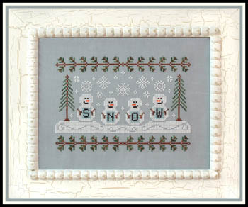 Country Cottage Needleworks - Snowmen