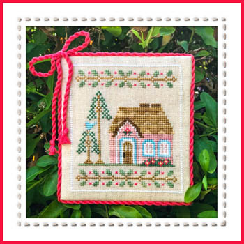 Country Cottage Needleworks - Welcome to the Forest - Part 5 - Pink Forest Cottage