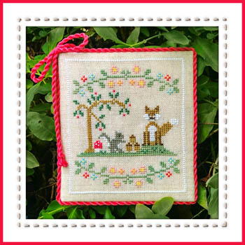 Country Cottage Needleworks - Welcome to the Forest - Part 6 - Forest Fox and Friends