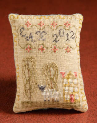 Dames of the Needle - Yellow House Pincushion