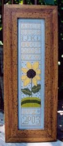 Ewe and Eye and Friends - Primitive Sunflower