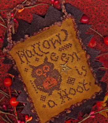 Homespun Elegance - Halloween Year 2 - A Hoot - January