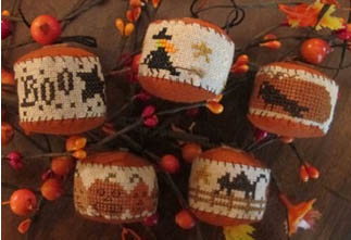 Homespun Elegance - Rounds a Plenty II - Halloween