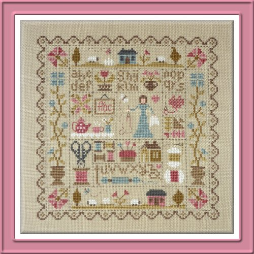 Jardin prive patchwork de la brodeuse the patchwork rabbit for Jardin prive