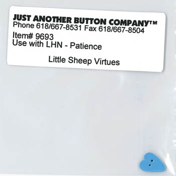 Little Sheep Virtues #7 - Patience Button Pack