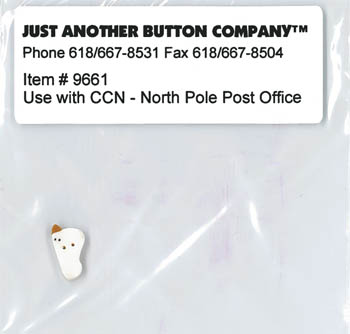 Just Another Button Company - Santa's Village #3 - North Pole Post Office Button Pack