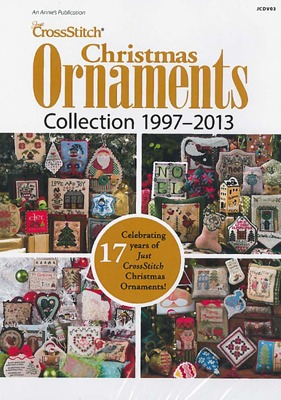 Just Cross Stitch Magazine - Christmas Ornaments 1997-2013 DVD
