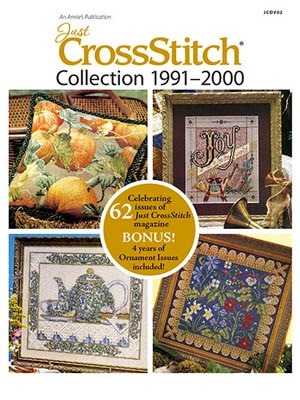 Just Cross Stitch Magazine - Cross Stitch Collection 1991-2000 DVD