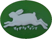 Kelmscott Designs - Happy Hare Needleminder
