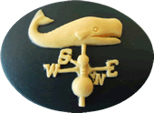 Kelmscott Designs - Whale Weathervane Needleminder