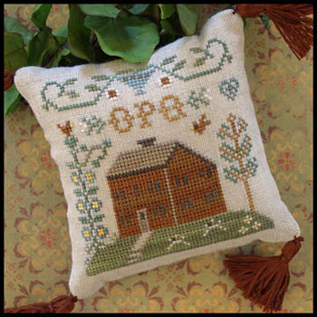 Little House Needleworks - ABC Samplers #6 - OPQ