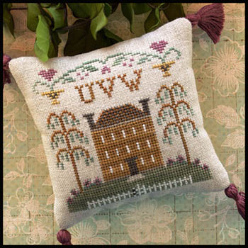 Little House Needleworks - ABC Samplers #8 - UVW